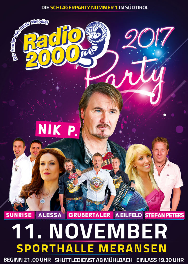 Radio 2000 Schlagerparty 2017